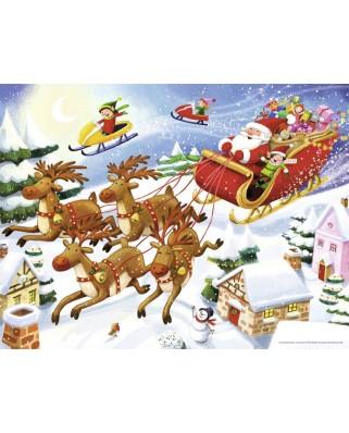Puzzle Nathan - Santa Claus, 30 piese (62480)