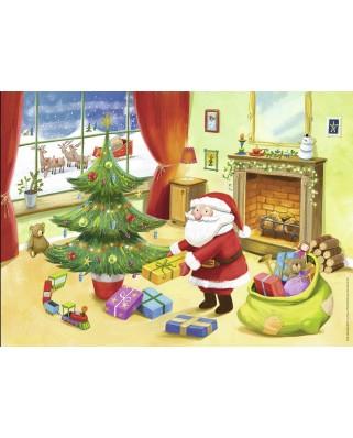 Puzzle Nathan - Santa Claus, 45 piese (57447)