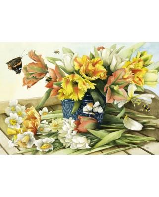 Puzzle Schmidt - Marjolein Bastin: Spring Blossoms, 1.000 piese (59573)