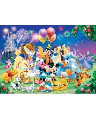 Puzzle Nathan - The Disney Family, 1.000 piese (11087)