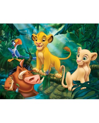 Puzzle Nathan - The Lion King - Simba and Friends, 30 piese (10931)