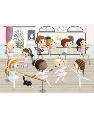 Puzzle Nathan - The Little Ballerinas, 45 piese (55376)