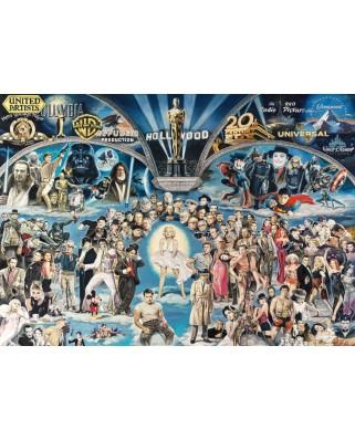 Puzzle Schmidt - Renato Casaro: Hollywood, 1.000 piese (59398)