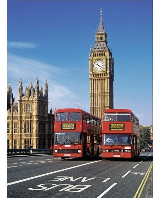 Puzzle Nathan - Travel to London, 500 piese (57461)