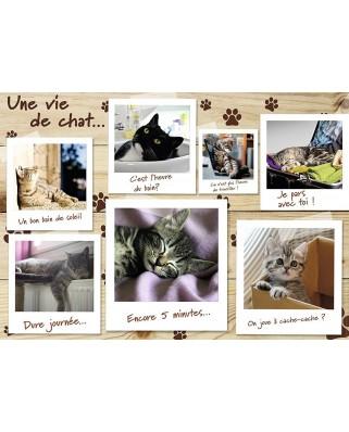 Puzzle Nathan - Une Vie de Chat, 1.500 piese (55351)