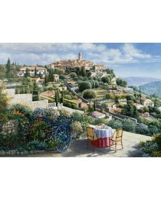 Puzzle Schmidt - Sam Park: Saint Paul de Vence, 1.000 piese (59483)
