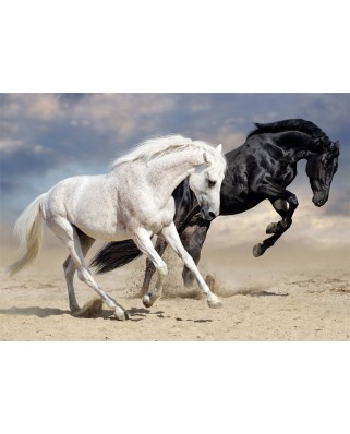 Puzzle Nathan - Wild Gallop, 1.500 piese (62558)