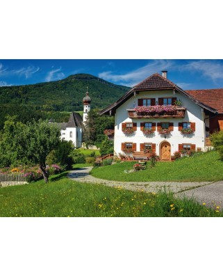Puzzle Schmidt - Holidays in Hoglworth Monastery, Upper Bavaria, 500 piese (58273)