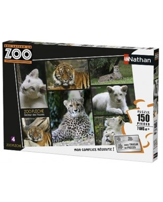 Puzzle Nathan - Zoo, 150 piese (62511)