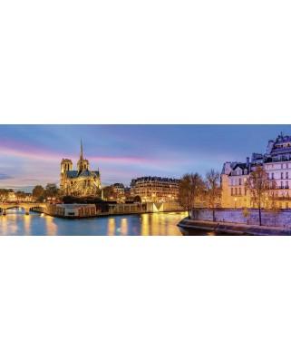 Puzzle panoramic Nathan - Paris, France, 1000 piese (62544)