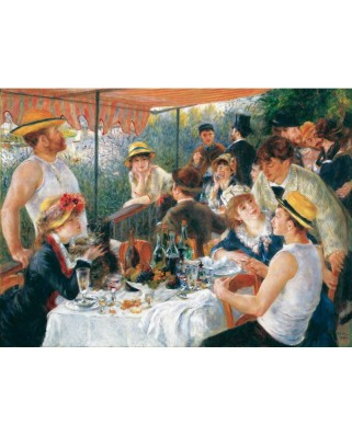 Puzzle din lemn Michele Wilson - Auguste Renoir: Luncheon of the Boating Party, 50 piese dificile (1056)
