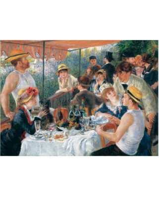 Puzzle din lemn Michele Wilson - Auguste Renoir: The Luncheon of the Boating, 250 piese dificile (12735)
