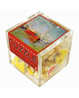 Puzzle din lemn Michele Wilson - Claude Monet: The Red Boats, 30 piese (51217)