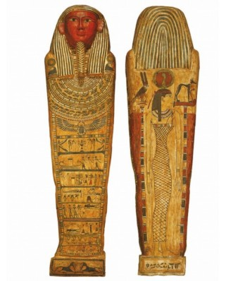 Puzzle din lemn Michele Wilson - Egyptian Art, 2x75 piese (59161)