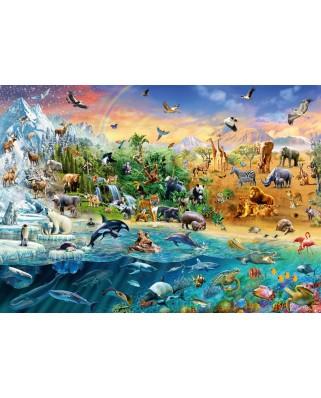 Puzzle Schmidt - Animal Kingdom, 1.000 piese (58324)