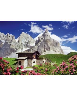 Puzzle Schmidt - Segantini Hut, Dolomites, 1.500 piese (58323)