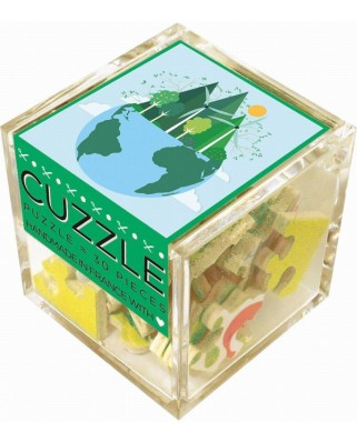 Puzzle din lemn Michele Wilson - Green Energy, 30 piese (51220)