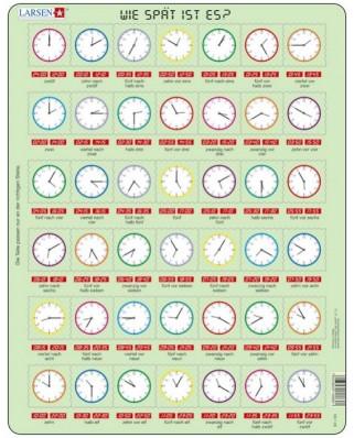Puzzle ceas Larsen - Clock Puzzle (in German), 42 piese (48763)
