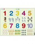 Puzzle Larsen - 1 to 10, 10 piese (48377)