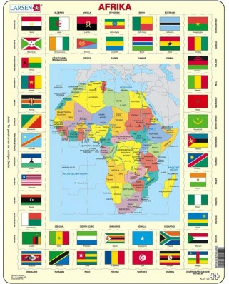 Puzzle Larsen - Africa (in German), 70 piese (63321)