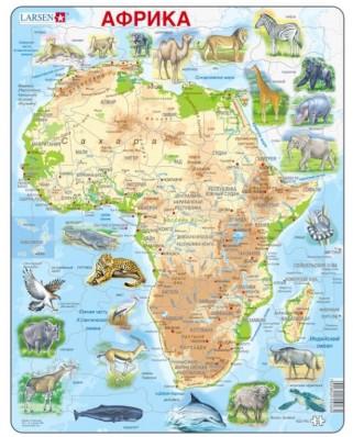 Puzzle Larsen - Africa (in Russian), 63 piese (59467)