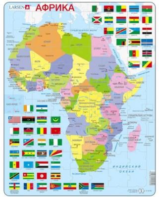 Puzzle Larsen - Africa (in Russian), 70 piese (59502)