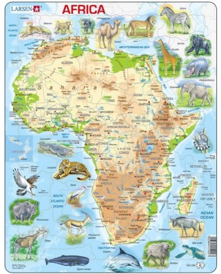 Puzzle Larsen - Africa, 63 piese (48692)