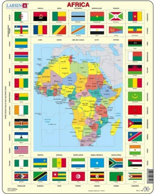 Puzzle Larsen - Africa, 70 piese (63323)