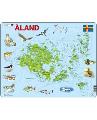Puzzle Larsen - Aland Islands, 61 piese (48361)