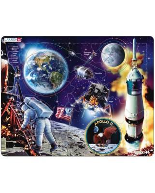 Puzzle Larsen - Apollo 11, 50 piese (48777)