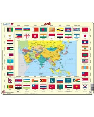 Puzzle Larsen - Asia (in Dutch), 70 piese (63320)