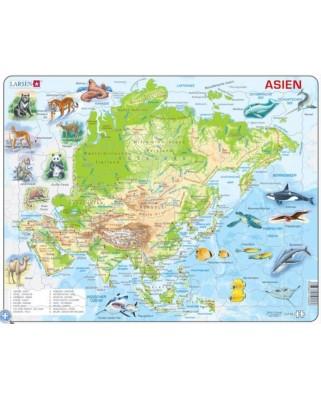 Puzzle Larsen - Asia, 63 piese (48371)