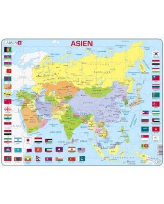 Puzzle Larsen - Asia, 70 piese (48529)