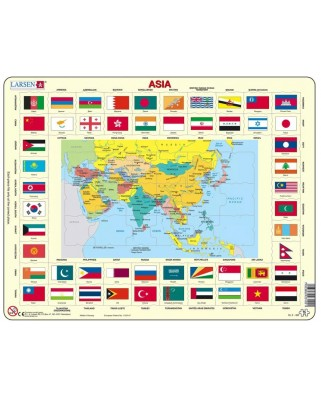 Puzzle Larsen - Asia, 70 piese (63319)