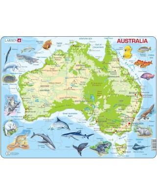 Puzzle Larsen - Australia, 65 piese (48372)