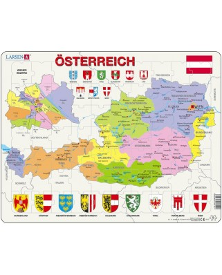 Puzzle Larsen - Austria, 70 piese (48526)