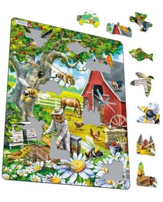 Puzzle Larsen - Beekeeping, 53 piese (59580)