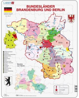 Puzzle Larsen - Brandenburg und Berlin, 70 piese (48521)