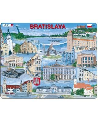 Puzzle Larsen - Bratislava Souvenir, 65 piese (48745)