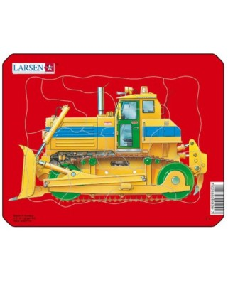 Puzzle Larsen - Bulldozer, 10 piese (48495)