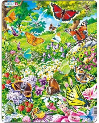 Puzzle Larsen - Butterflies, 42 piese (48428)