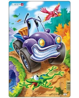 Puzzle Larsen - Cars, 12 piese (48558)
