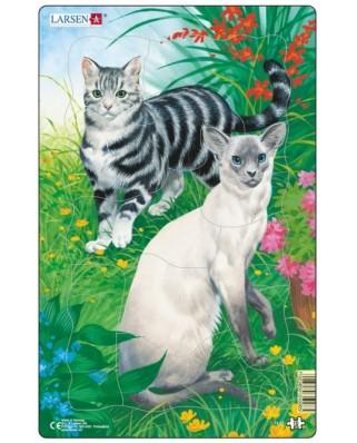 Puzzle Larsen - Cats, 10 piese (48545)