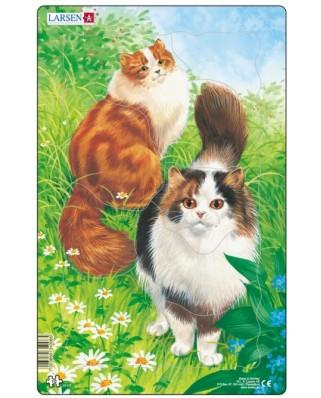 Puzzle Larsen - Cats, 10 piese (48546)