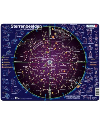 Puzzle Larsen - Constellations (in Dutch), 70 piese (59570)