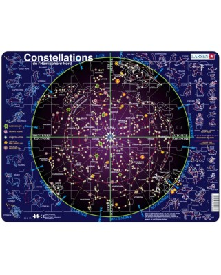 Puzzle Larsen - Constellations (in French), 70 piese (59569)