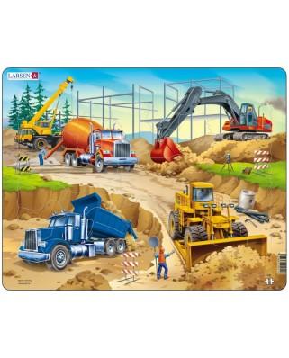 Puzzle Larsen - Construction, 30 piese (48719)