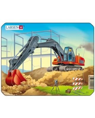 Puzzle Larsen - Construction, 7 piese (48501)