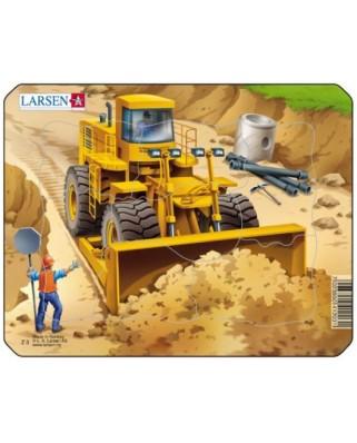 Puzzle Larsen - Construction, 7 piese (48503)