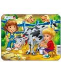 Puzzle Larsen - Cow, 9 piese (50872)